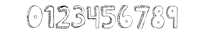 Fh_Scribble Font OTHER CHARS