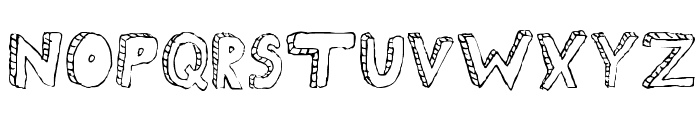 Fh_Scribble Font UPPERCASE