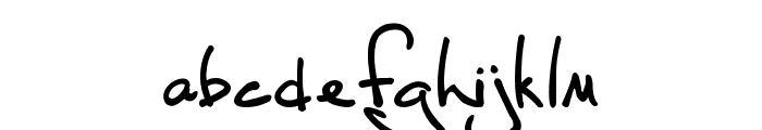 Fh_Script Font LOWERCASE