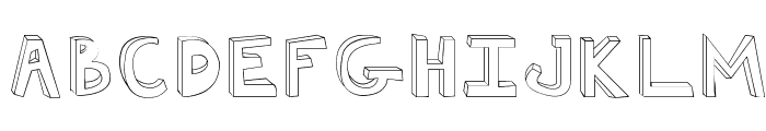 Fh_Ugly Font UPPERCASE
