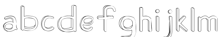 Fh_Ugly Font LOWERCASE