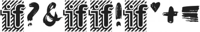 FIONA BRUSH otf (400) Font OTHER CHARS