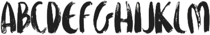 FIONA BRUSH otf (400) Font LOWERCASE