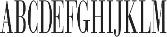 FIRESTONE Regular otf (400) Font UPPERCASE