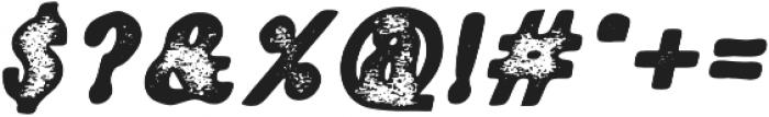 Fiber Stamp Italic otf (400) Font OTHER CHARS
