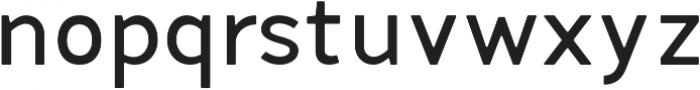 Fibon Neue Medium Round otf (500) Font LOWERCASE