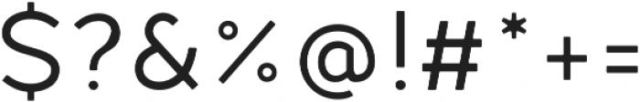 Fibon Neue Round otf (400) Font OTHER CHARS