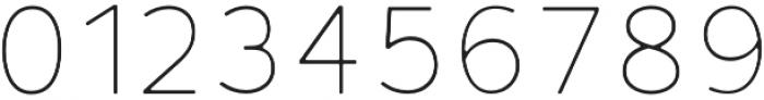 Fibon Neue Thin Round otf (100) Font OTHER CHARS
