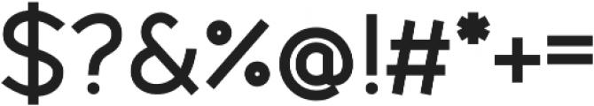 Fibon Sans Bold otf (700) Font OTHER CHARS