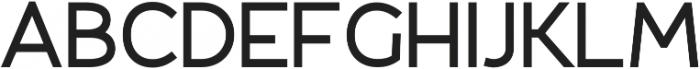 Fibon Sans Bold otf (700) Font UPPERCASE