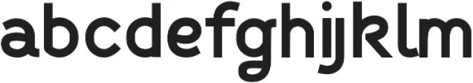 Fibon Sans ExtraBold otf (700) Font LOWERCASE