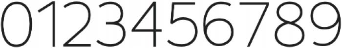 Fibon Sans Light otf (300) Font OTHER CHARS