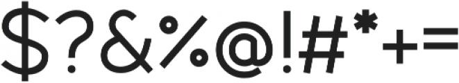 Fibon Sans Medium otf (500) Font OTHER CHARS