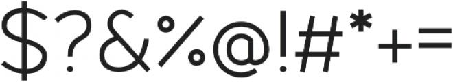 Fibon Sans otf (400) Font OTHER CHARS