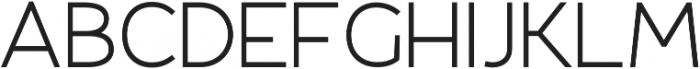Fibon Sans otf (400) Font UPPERCASE
