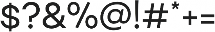 Fibra Alt otf (400) Font OTHER CHARS