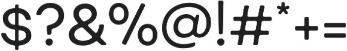 Fibra One Alt otf (400) Font OTHER CHARS