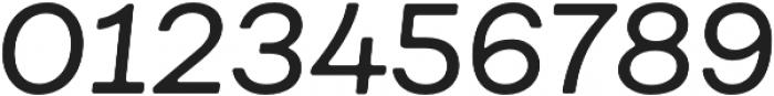 Fibra One Regular It otf (400) Font OTHER CHARS