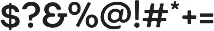 Fibra One SemiBold otf (600) Font OTHER CHARS