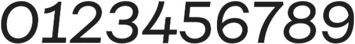 Fibra Regular It otf (400) Font OTHER CHARS