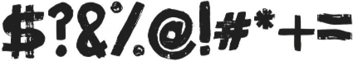 Fibre Vintage Full otf (400) Font OTHER CHARS