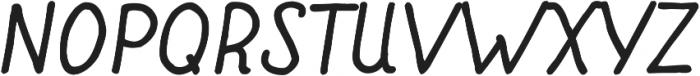 Fiddle Bold Italic ttf (700) Font UPPERCASE