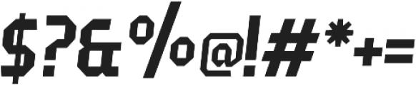 Fierro Italic otf (400) Font OTHER CHARS