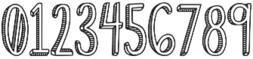 Fiesta Stripy Font otf (400) Font OTHER CHARS