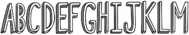 Fiesta Stripy Font otf (400) Font LOWERCASE