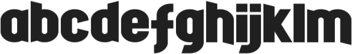 Fight Night otf (400) Font LOWERCASE