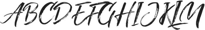 Fighter otf (400) Font UPPERCASE