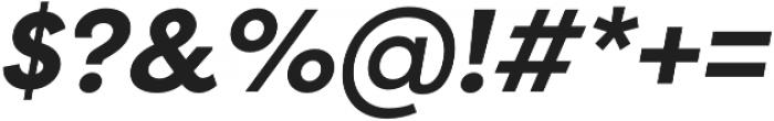 Filson Pro Bold Italic otf (700) Font OTHER CHARS