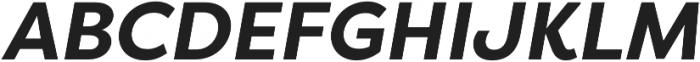 Filson Pro Bold Italic otf (700) Font UPPERCASE