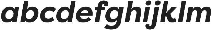 Filson Pro Bold Italic otf (700) Font LOWERCASE