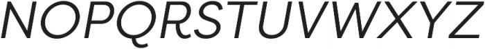 Filson Pro Book Italic otf (400) Font UPPERCASE
