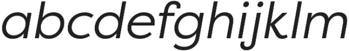 Filson Pro Book Italic otf (400) Font LOWERCASE