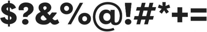 Filson Pro Heavy otf (800) Font OTHER CHARS