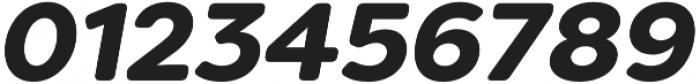 Filson Soft Black Italic otf (900) Font OTHER CHARS
