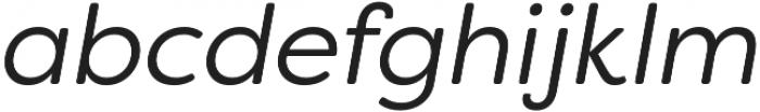 Filson Soft Book Italic otf (400) Font LOWERCASE