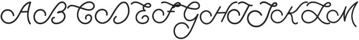 Filson otf (400) Font UPPERCASE