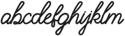 Filson otf (400) Font LOWERCASE