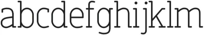 Finalist Round Slab 45 Light otf (300) Font LOWERCASE