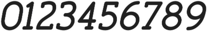Finalist Round Slab 66 Medium Oblique otf (500) Font OTHER CHARS