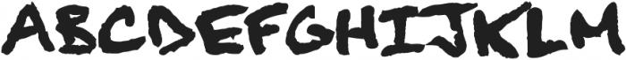 Finck32A Bold otf (700) Font UPPERCASE