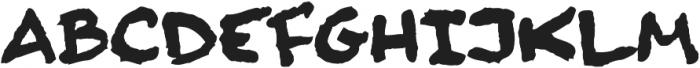 Finck32A Bold otf (700) Font LOWERCASE