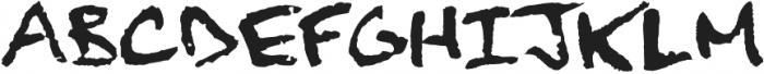 Finck32A Regular otf (400) Font UPPERCASE