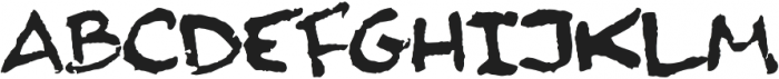Finck32A Regular otf (400) Font LOWERCASE