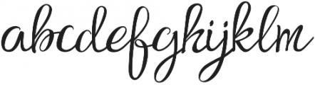 Findair Script Plain otf (400) Font LOWERCASE