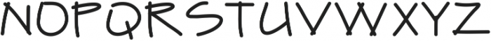 Finetrace ttf (400) Font UPPERCASE