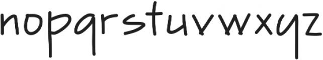 Finetrace ttf (400) Font LOWERCASE